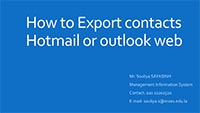 images handbooks email How to Export contacts Hotmail or outlook web