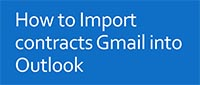images handbooks email How to Import contracts Gmail to Outlook